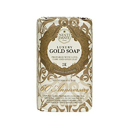 Nesti Dante 60 ° Anniversario Sapone Luxury Gold - 250 gr.