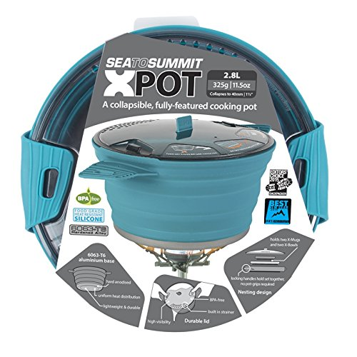 Sea To Summit X-Pot 2,8 Liter - pacificblu Größe OneSize
