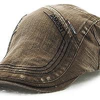 MGS-Sombreros   Hombre Verano Todas Las Temporadas Vintage Casual Algodón  Boina Francesa cd8a5538623