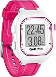 Garmin Forerunner 25 GPS Running Watch - Small, White/Pink