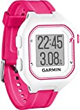Garmin Forerunner 25 GPS Running Watch with Heart Rate Monitor - Small, White/Pink