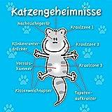 Katzengeheimnisse: Cartoon-Geschenkbuch für Katzenliebhaber