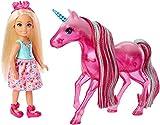 Barbie–Mini-muñeca Chelsea und Ihr Einhorn (fpl82)