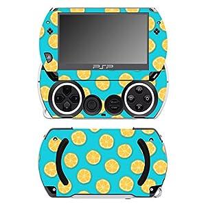Disagu SF-14232_1073 Design Folie für Sony PSP Go – Motiv Orangen blau transparent