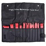 cachor 11Automatische Trim entfernen Werkzeug, Auto Interior Tür Panel stabil Haarentfernungs-Set mit tragbar Tasche