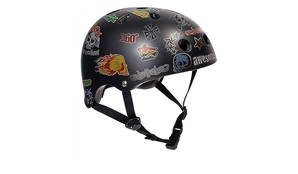 Neon Gr/ün Longboard Helm Inliner Bmx Schutzausr/üstung Skateboard Helm SFR Skateboard//Scooter // Inliner//Rollschuh Schutz Helm