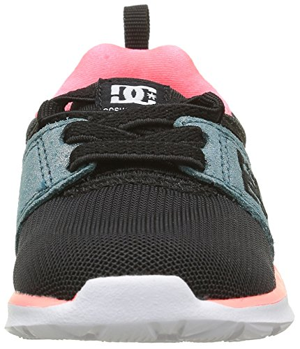 DC APPAREL Mädchen Heathrow Sneaker Noir (Kmw)