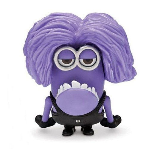 Eyed Purple Minion 2 Poseable Figure by Despicable Me ()
