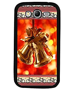 Fuson 2D Printed Christmas Bells Designer back case cover for Samsung Galaxy Grand 2 - D4177