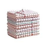 MAS International Ltd Strofinacci di spugna 100% cotone, morbidi al tatto, in confezione da 2, 4, 6, 8, 10, 12, 100% cotone, 2 pezzi