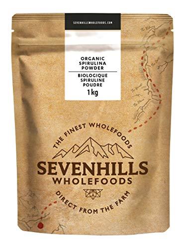 Sevenhills Wholefoods Spirulina-Pulver Bio