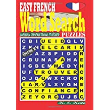 EASY FRENCH Word Search Puzzles. Vol. 2