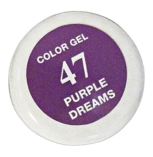 NAIL Ricostruzione Gel COLOR 47 purple dream 5 Ml. LU0024-47 Cosmetici