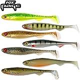 7 Fox Rage Slick Shads 11cm - Raubfischköder zum Spinnfischen auf Hecht, Zander & Barsch, Gummiköder zum Jiggen & Faulenzen, Gummishad