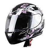 Astone Helmets Casque Intégral GTO pour Enfant, Angel Rose, L
