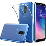 ELICA Exclusive for Samsung Galaxy A6 Plus -2018 - Back Cover Transparent Clear Crystal Thin Soft Case - Crystal View for Samsung Galaxy A6 Plus -2018