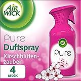 Air Wick Pure Premium-Duftspray Duo, Kirschblütenzauber, 2er Pack (2 x 2 Stück)