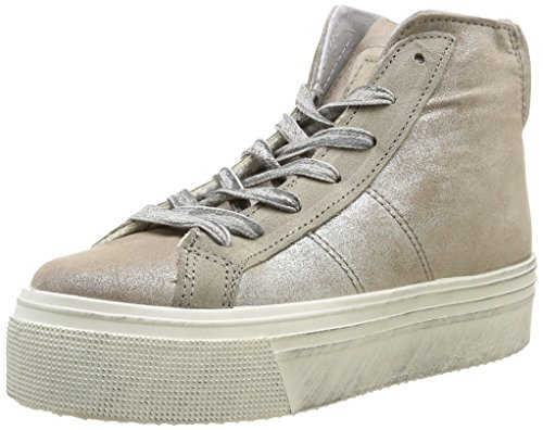No Box Bristol, Baskets mode femme Beige (Irise Sand)
