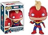 FunKo Pop. Marvel Captain Marvel Masked # 154Vinyle de Bobble Head