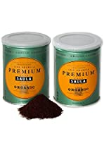 Premium Organic Ground Coffee - 100% Arabica Spanish Espresso Blend from Award Winning Café Saula 500g (2x 250g)