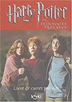 Harry Potter et le Prisonnier d'Azkaban (livre de cartes postales) de J.K. Rowling