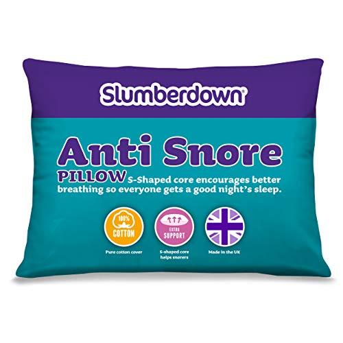Slumberdown Anti-Snore Pillow, White