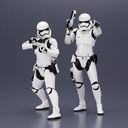 Star Wars   Stormtrooper first order pack 2 figuras  18 cm (Bandai KOTKTOSW107)