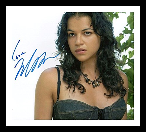 Michelle Rodriguez Autogramme Signiert Und Gerahmt Foto (Rodriguez-foto Michelle)