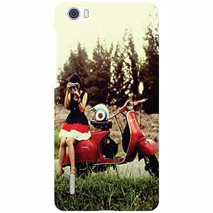 Huawei Honor 6 H60-L04 - Pretty Girl Phone Cover