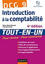 DCG 9 - Introduction à la comptabilité - 4e édition - Tout-en-Un de Anne-Marie Bouvier