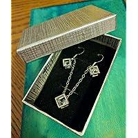 Cubo Pandora Box Stile Oro e Argento Ciondolo Collana diamante gioielli vintage Hot Fashion Trend donna gioielli - Sterling Silver Dot Design