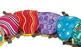 """Lamaze Babyspielzeug mit Musik """"Musik-Wurm"""" mehrfarbig – hochwertiges Kleinkindspielzeug – fördert den Tastsinn und das Hörvermögen Ihres Kindes – ab 0 Monate - 6"""