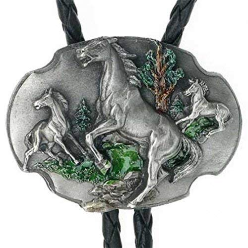 Bolo Tie Caballos Salvajes, Wild Pony, Mustang, Caballo, Bolotie
