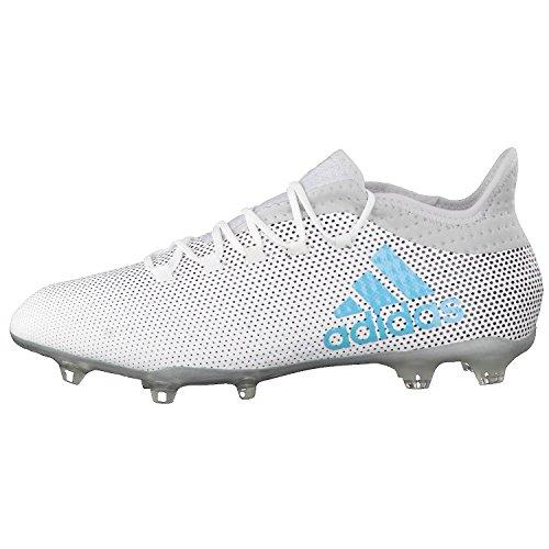 adidas X 72 Fg, Scarpe per Allenamento Calcio Uomo Multicolore (Ftwr White/Energy Blue /Clear Grey )