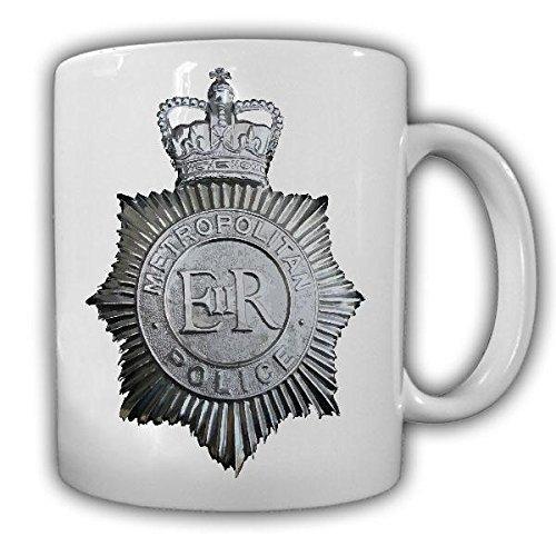MET Metropolitan Police Service MPS Polizeibehörde Polizei London Emblem Abzeichen Tasse Kaffee...