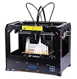 CTC Bizer Pro Double Extruder Desktop 3D Printer , 2016 Upgraded Full Quality High Precision, Mk8, Factory Direct Lowest Price, With PLA Free Spool Filament