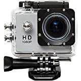 Teconica KJDI548 Full HD 1080P Water Proof Action Camera for Scuba Diving, Wild Life & Personal Use Compatible for Indoor & Outdoor Places