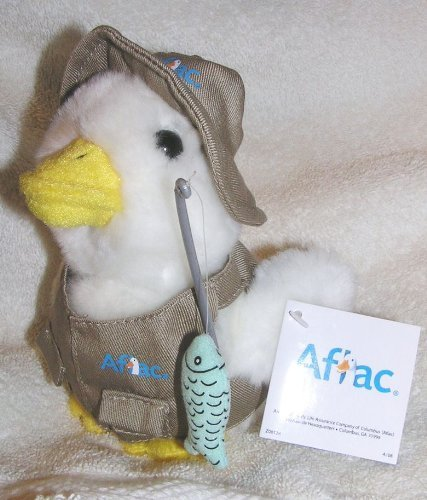 talking-6-plush-fisherman-aflac-duck-with-fishing-pole-by-aflac