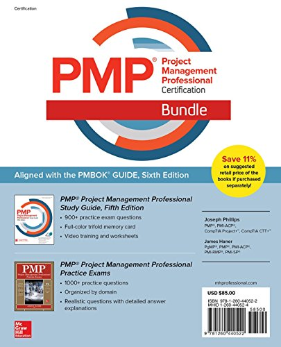 Pmp Project Management Professional Certification Bundle [With CD (Audio)]