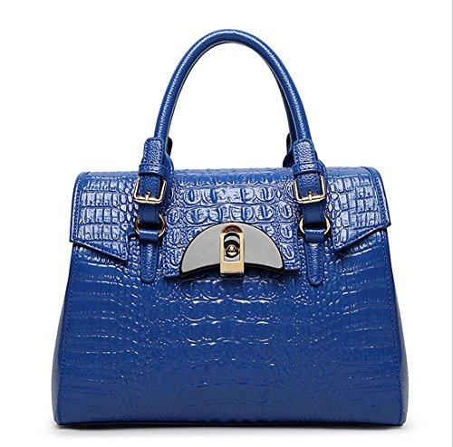 GBT Die neue Art- und Weisedame-Handtasche Blue