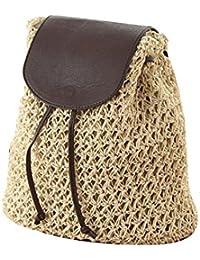 6e4de8e413b33 JUND 2018 Neu Sommer Damen Mode Lässig Rucksack Vintage Gehäkelt Daypack  Outdoor Travel Backpack mit…