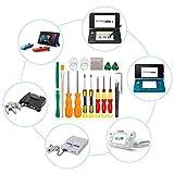 Destornilladores Nintendo Keten, Triwing, Kit de Herramientas Completo Para Nintendo Switch y Otros Productos Nintendo, Set Desarmador de Seguridad Gamebit