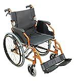 Aidapt selbstfahrend Aluminium Deluxe Rollstuhl