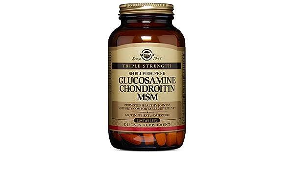 Shellfish free glucosamine chondroitin