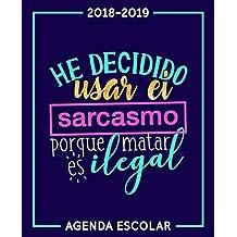 agenda escolar 2018 2019: Libros - Amazon.es