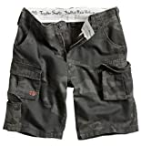 Surplus Trooper Cargo Shorts Oversize, blackcamo, Groesse 3XL