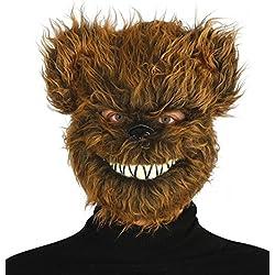 Máscara de Oso Maligno con pelo
