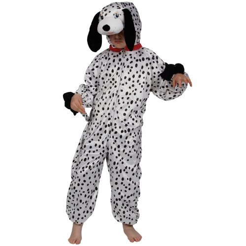 Childrens Fancy Dress Up Halloween Costume Dalmation