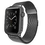jwacct kompatibel Für Apple Watch Armband 42mm Milanese Edelstahl Metall Ersatz Uhrband Sport...