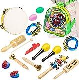 Instrumentos Musicales Infantiles para Niños con zaino Pack Preescolar de 15 pcs, Smarkids...